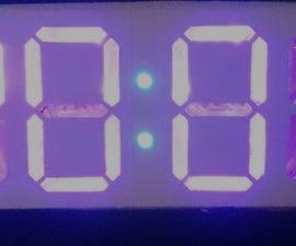 £5* Pizza Box RGB Clock