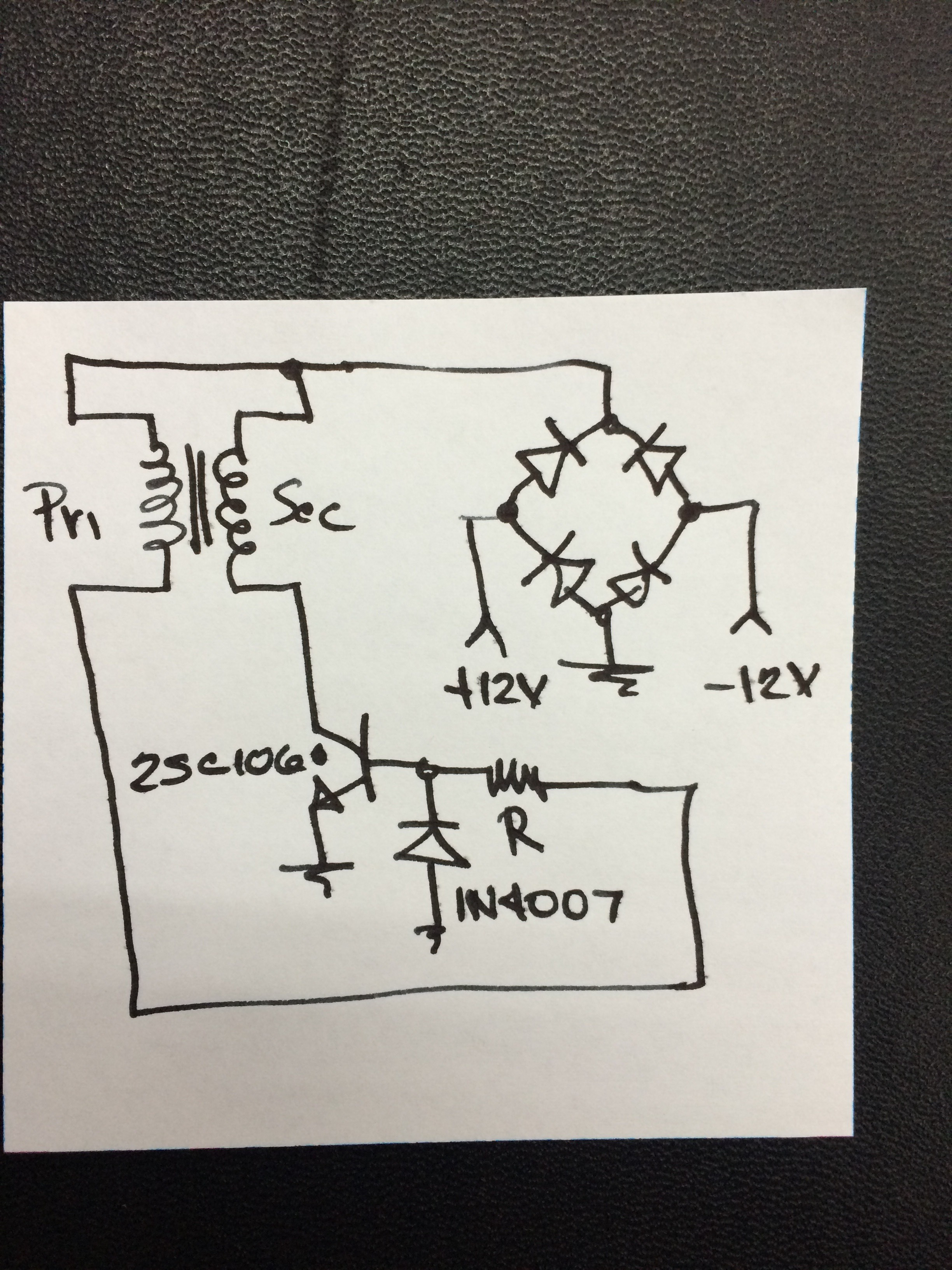 Picture of Driver Circuit