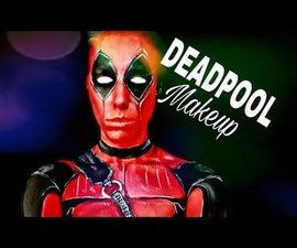 Deadpool妆容