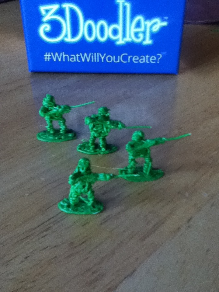 Picture of 3Doodled Army Men