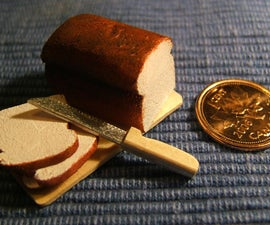 Bread and Knife with Penny