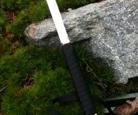 Saw Blade Survival Knife
