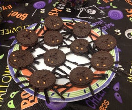 Super Simple Spider Cookies