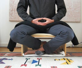 Alternative Meditation Bench