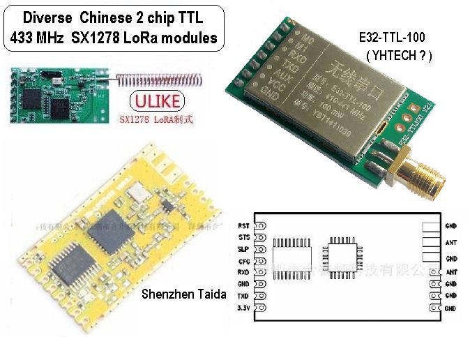 Picture of Chinese LoRa™ Modules - 2