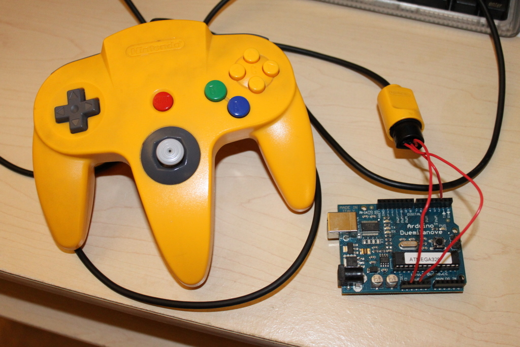 use an arduino with an n64 controller 5 steps (with pictures)Nintendo 64 Controller Wiring Diagram Free Download Wiring Diagram #21