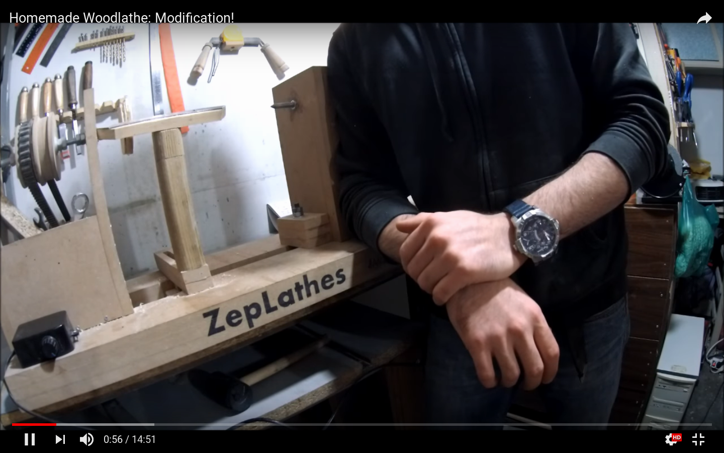 Picture of The Machinist's Woodlathe