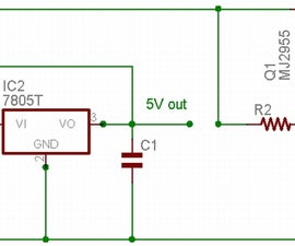 Dual Voltage Regulated Power Supply