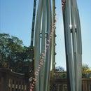 """V8-4"""" Vawt,savonius,vertical Axis,wind Turbine,ametek)"""