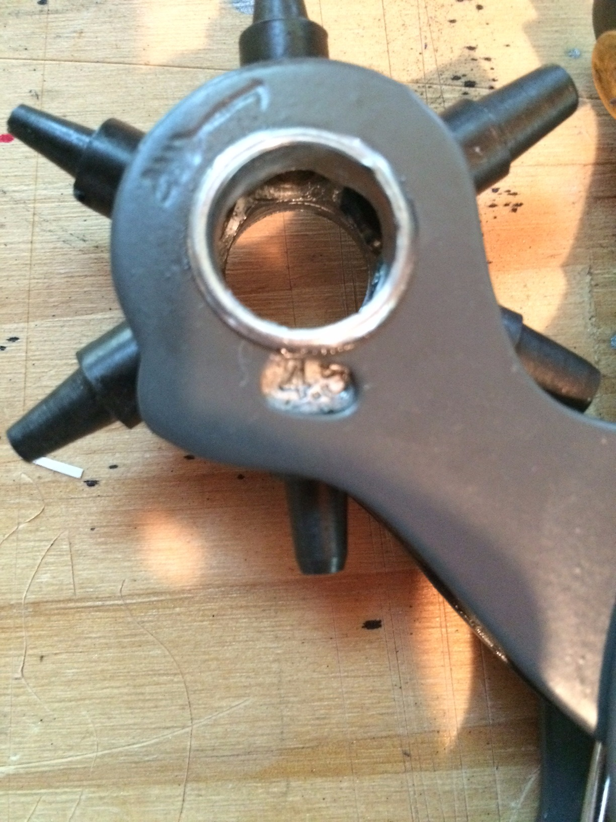 Picture of Adding the Nail Rivet and Finishing Up