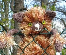 Crochet a Cute and Furry Monkey, Cat or Bear