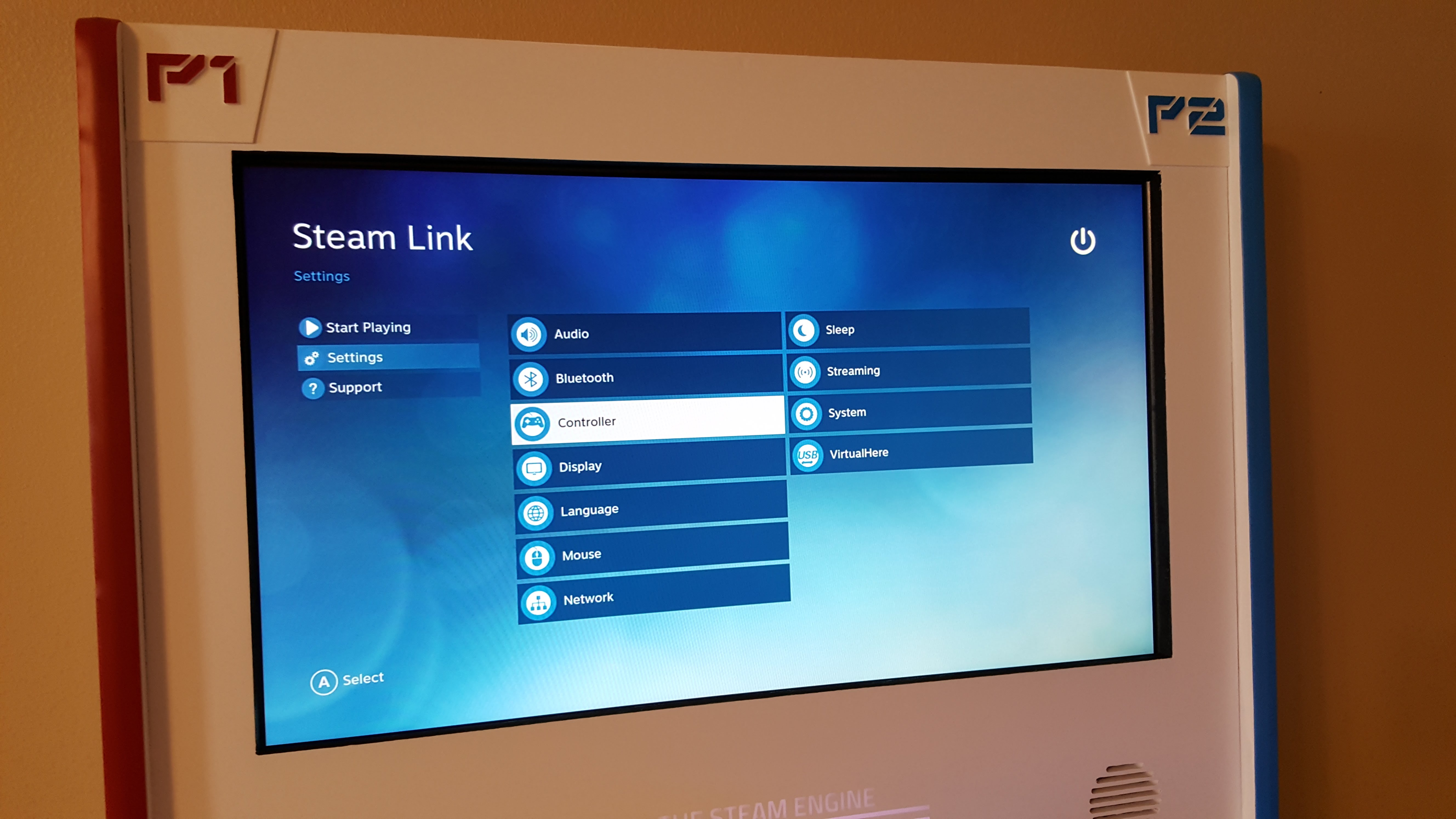 Picture of Setting Up the Steam Link