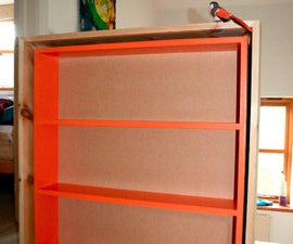 Inset Bookcase