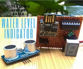 Ultrasonic Sensor Based Water Level Indicator