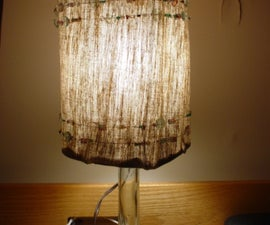 How to make a lamp!