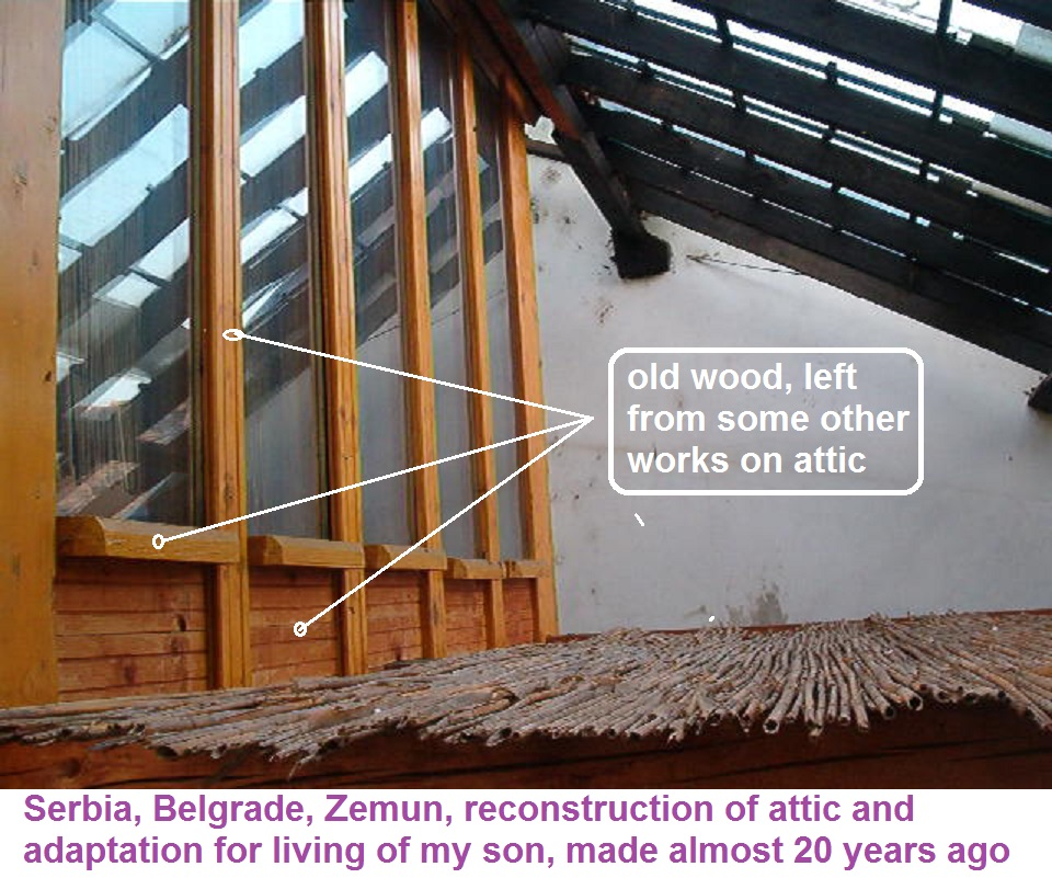 Picture of RECONSTRUCTION OF ATTIC FOR MY SON