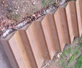 Easy Garden Stairs