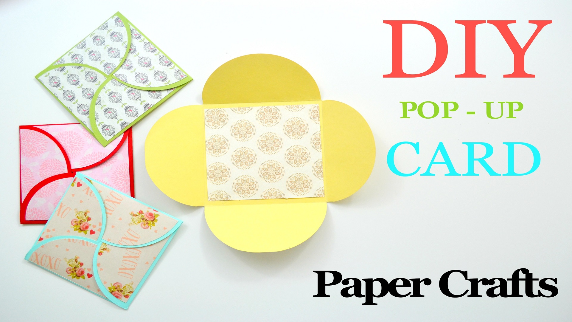Picture of How to Make a Greeting Card - DIY Paper Crafts - Birthday Gift
