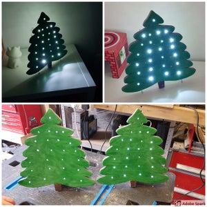 Mini LED Christmas Tree Nightlight