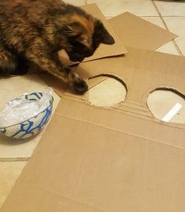 Careful Cuts.  Cat Approved.
