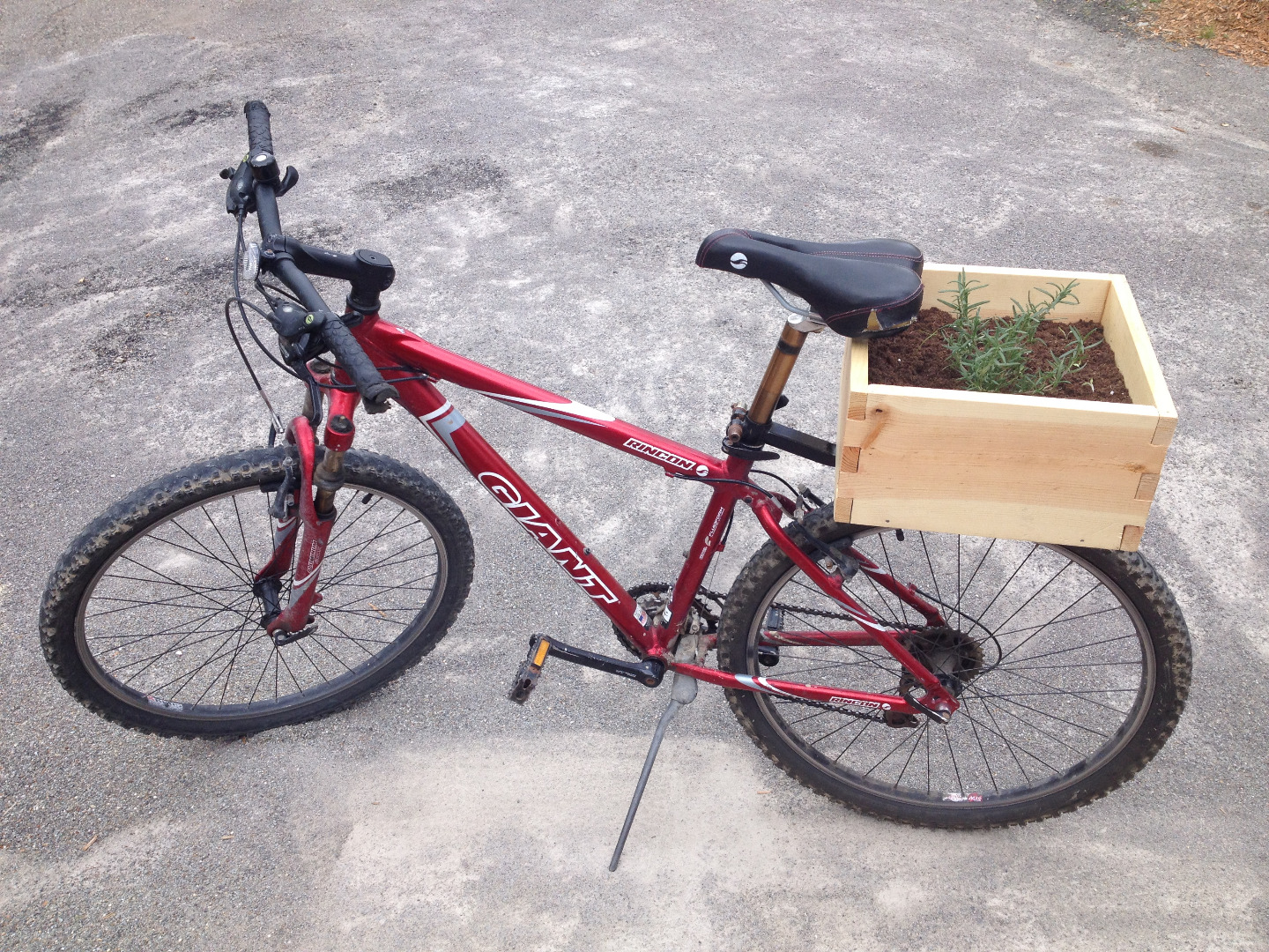 Picture of Portable Produce: the Botanic Bicycle
