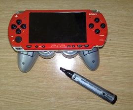 PSP EXTRA GRIP AND SOUND - joystick bar and 2W speaker
