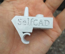 Model and Print a Visor Clip for Your Car With SelfCAD