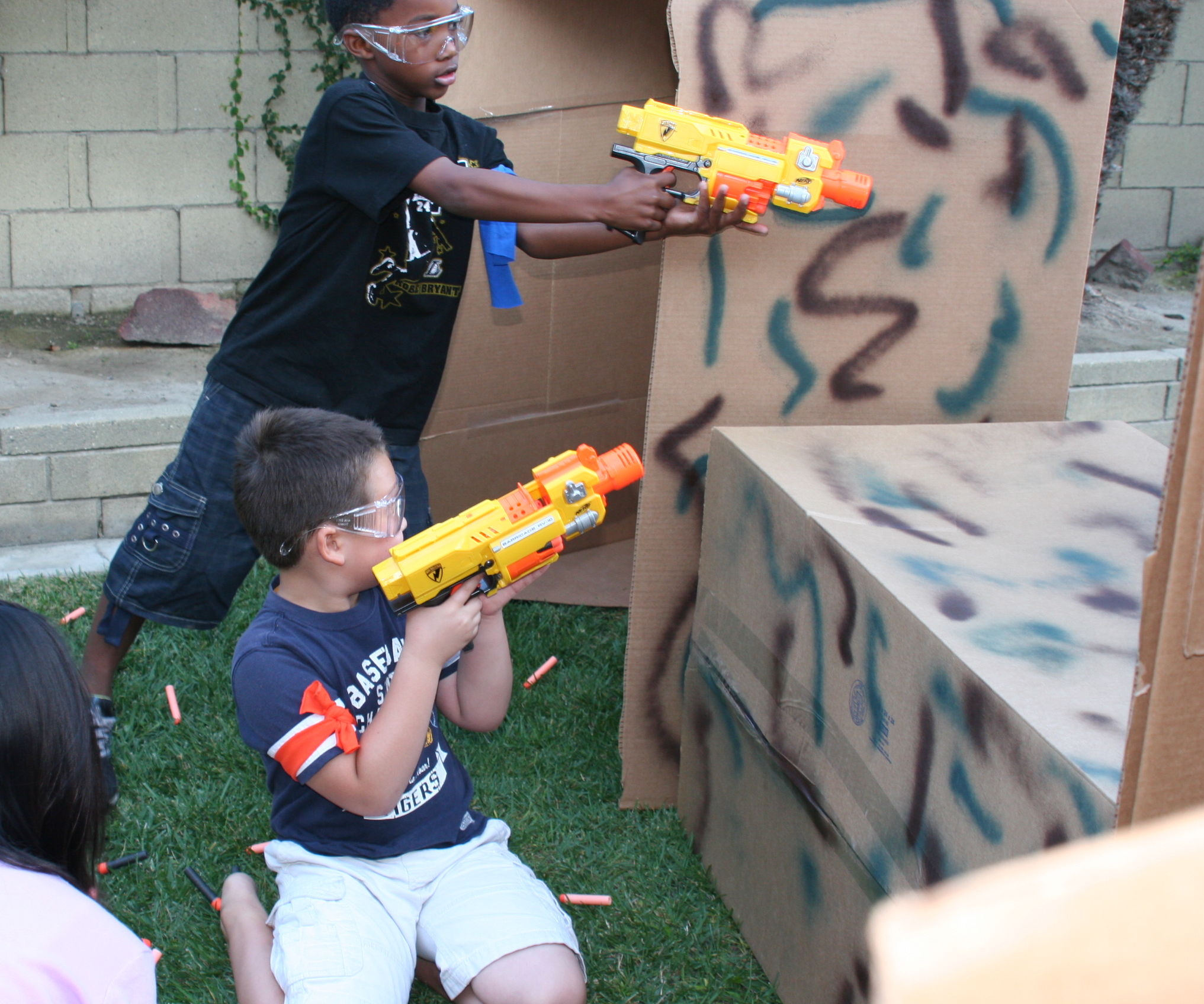 How to Throw a Nerf Battle Birthday Party: 5 Steps