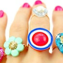 5 DIY Rings - Easy Adjustable Button Rings