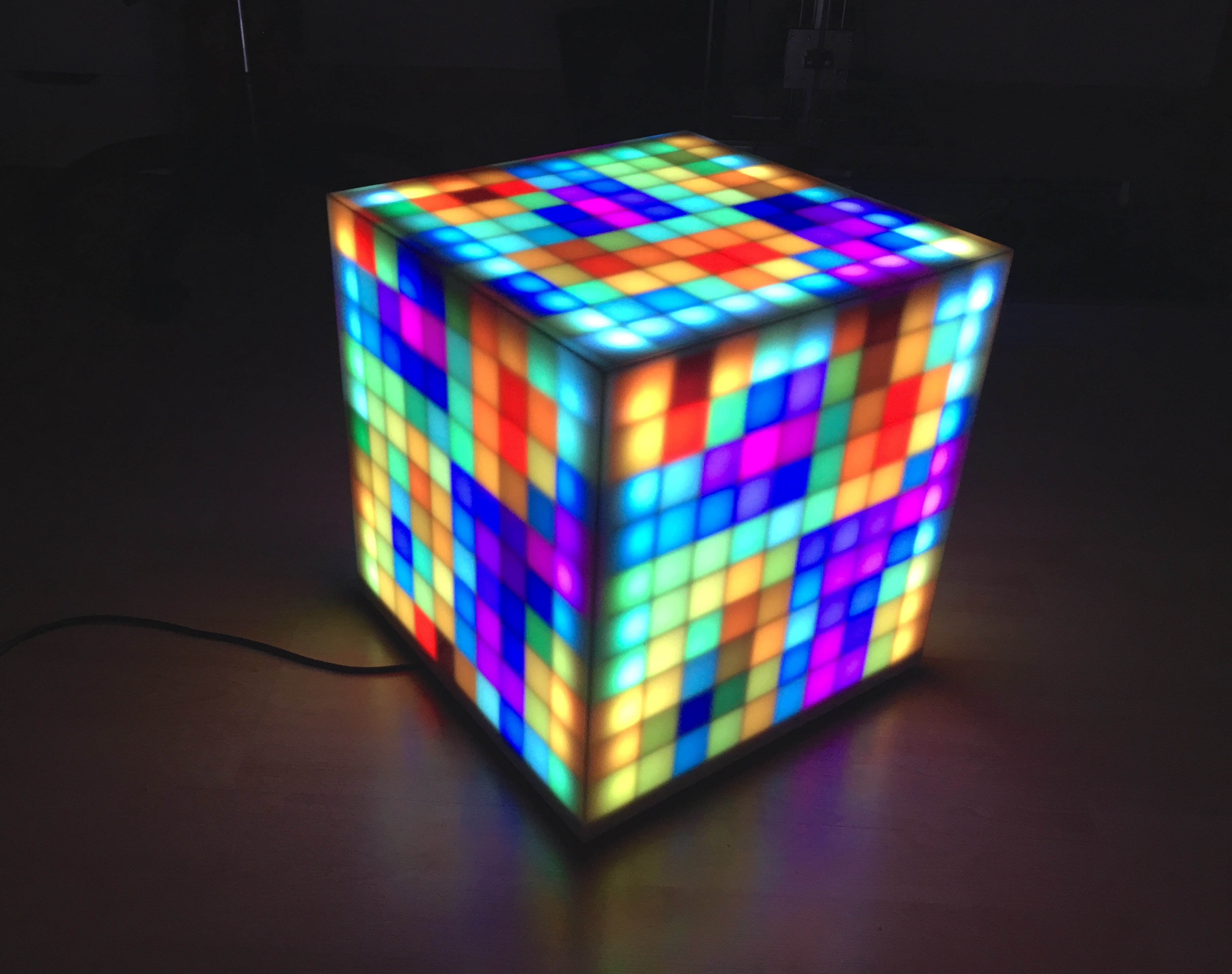 Picture of 500 LED-Pixel RGB-Brick