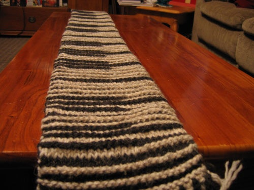 Shadow or Illusion Knitting