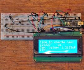 Capacitor Tester / Capacitance Meter