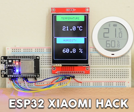 ESP32 Xiaomi Hack - Get Data Wirelessly