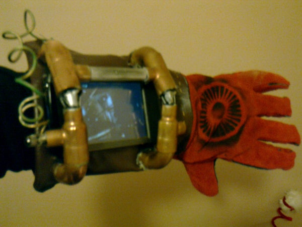 Steampunk Gauntlet Suitable for PDA/iPhone