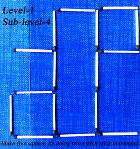 LEVEL  '1',   Sub-level  '4'
