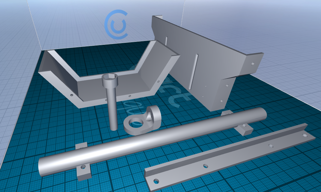 Picture of Print Trailer Parts