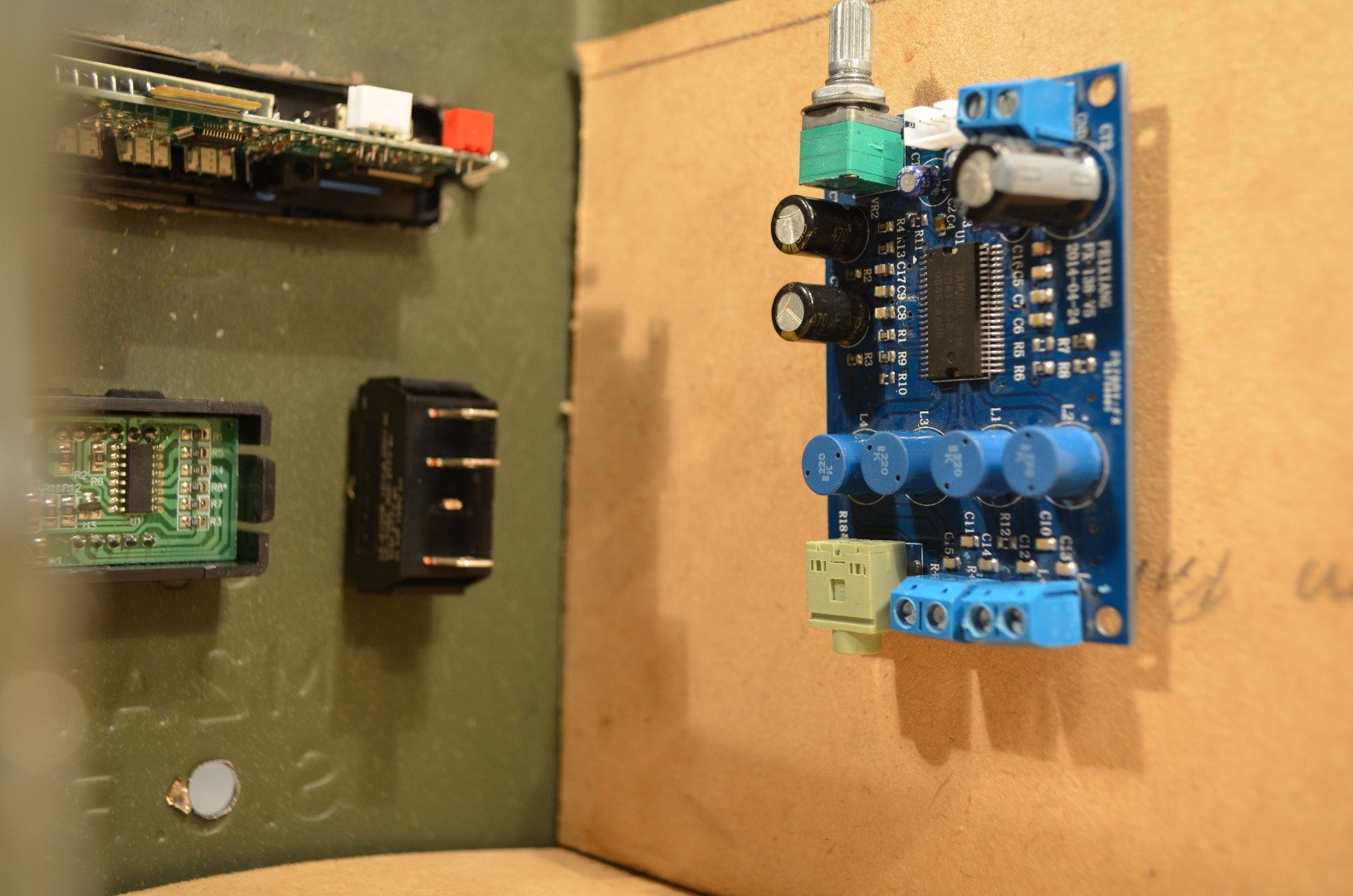 Picture of Plan Wiring and Components.