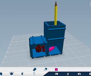Modular Desk Organization System