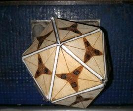 Lasercut Icosahedron (regular)