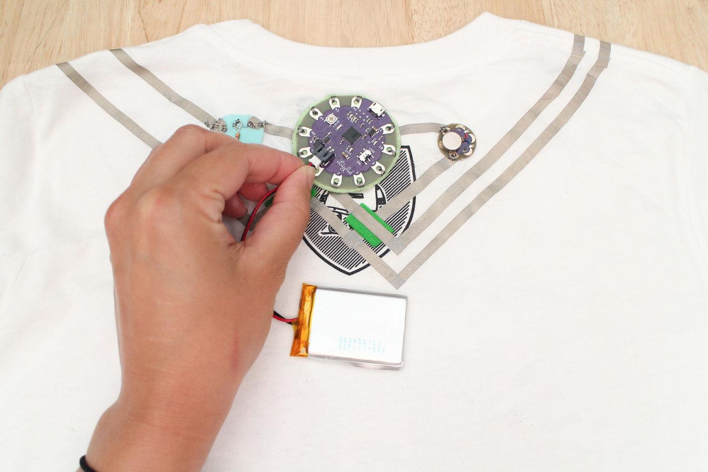 Sew Battery Pocket