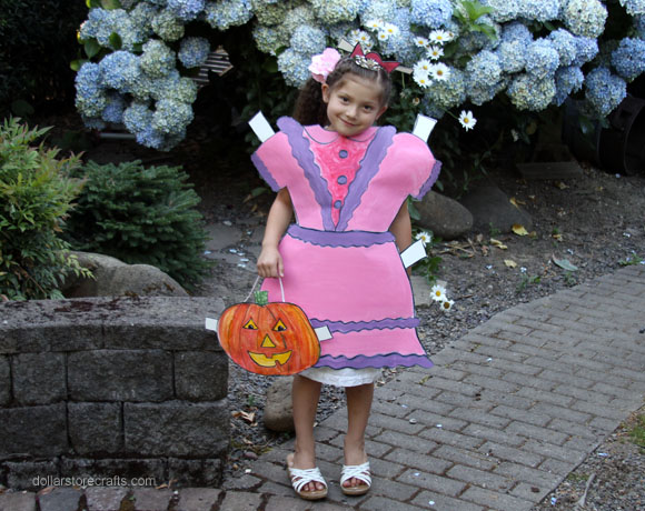 Picture of Make a Paper Doll Costume