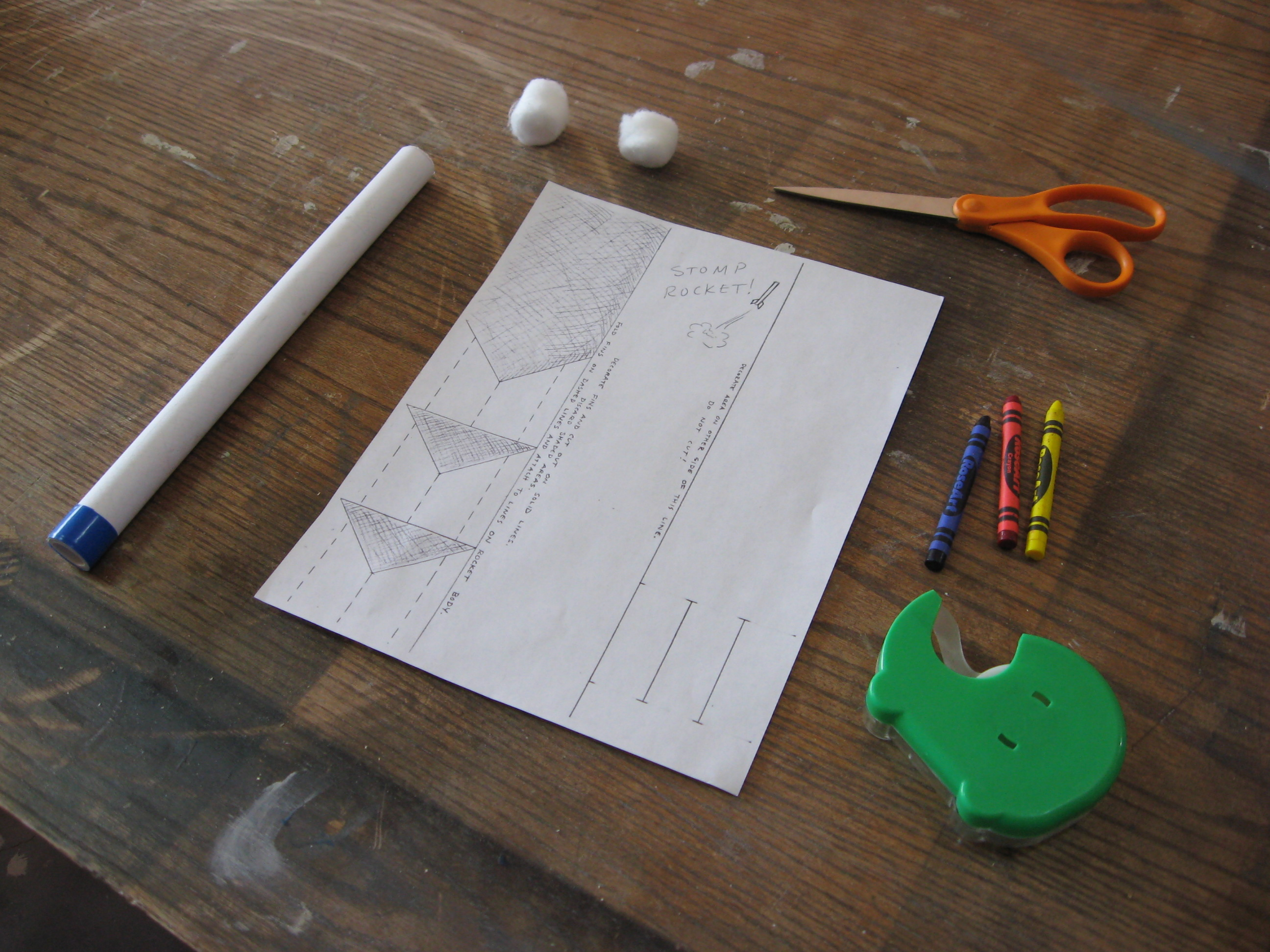 Paper Stomp Rockets: 7 Steps (with Pictures)