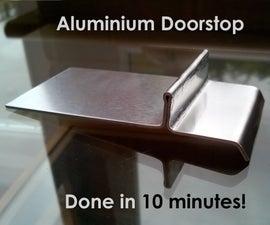 Simple Quick Aluminium Doorstop