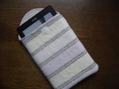 Felted Wool Kindle Cover