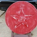 Red Star Distressed