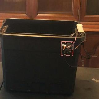 Monitoring a Lizard Terrarium Using Adosia IoT WiFi Controller + Motion Detect