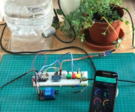 "Automatic Gardening System with NodeMCU and Blynk, the ""ArduFarmBot 2"""