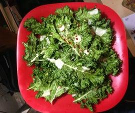 NYC Radiator Kale Chips :P