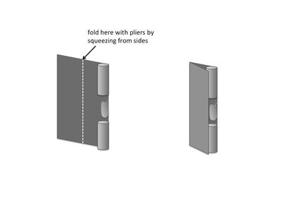 Make Hinges and Clasp