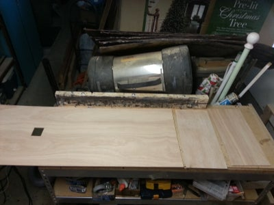 Cut Off Ends, Doors, Shelf and Backing